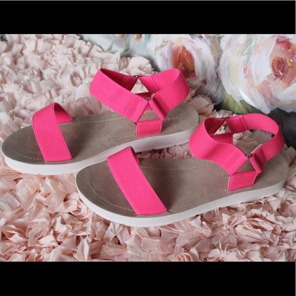 Madden Girl Nen Pink Sandals